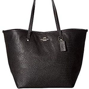 Coach Women's Leather Large Street Tote